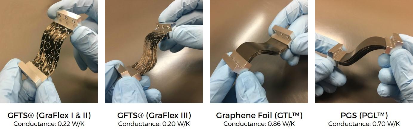 Graphite Thermal Straps