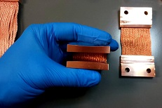Fermi Lab Copper Thermal Straps - Radiused Fittings - December 2018 - Design Gallery
