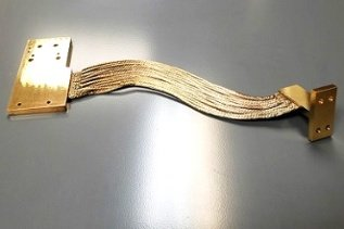 Gold Plated Copper Thermal Strap (CuTS) - ASML Cryocooler