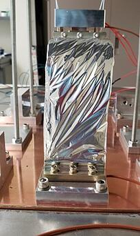 INFN Graphite Fiber Thermal Strap - Conductance Test