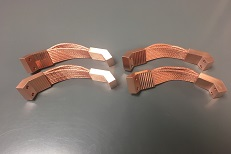 Comsat Copper Thermal Straps