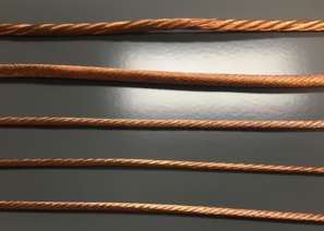 Copper Thermal Straps - TAI's custom copper rope and cabling options