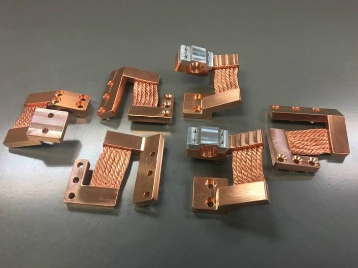 NASA BIRCHES Thermal Straps - Set