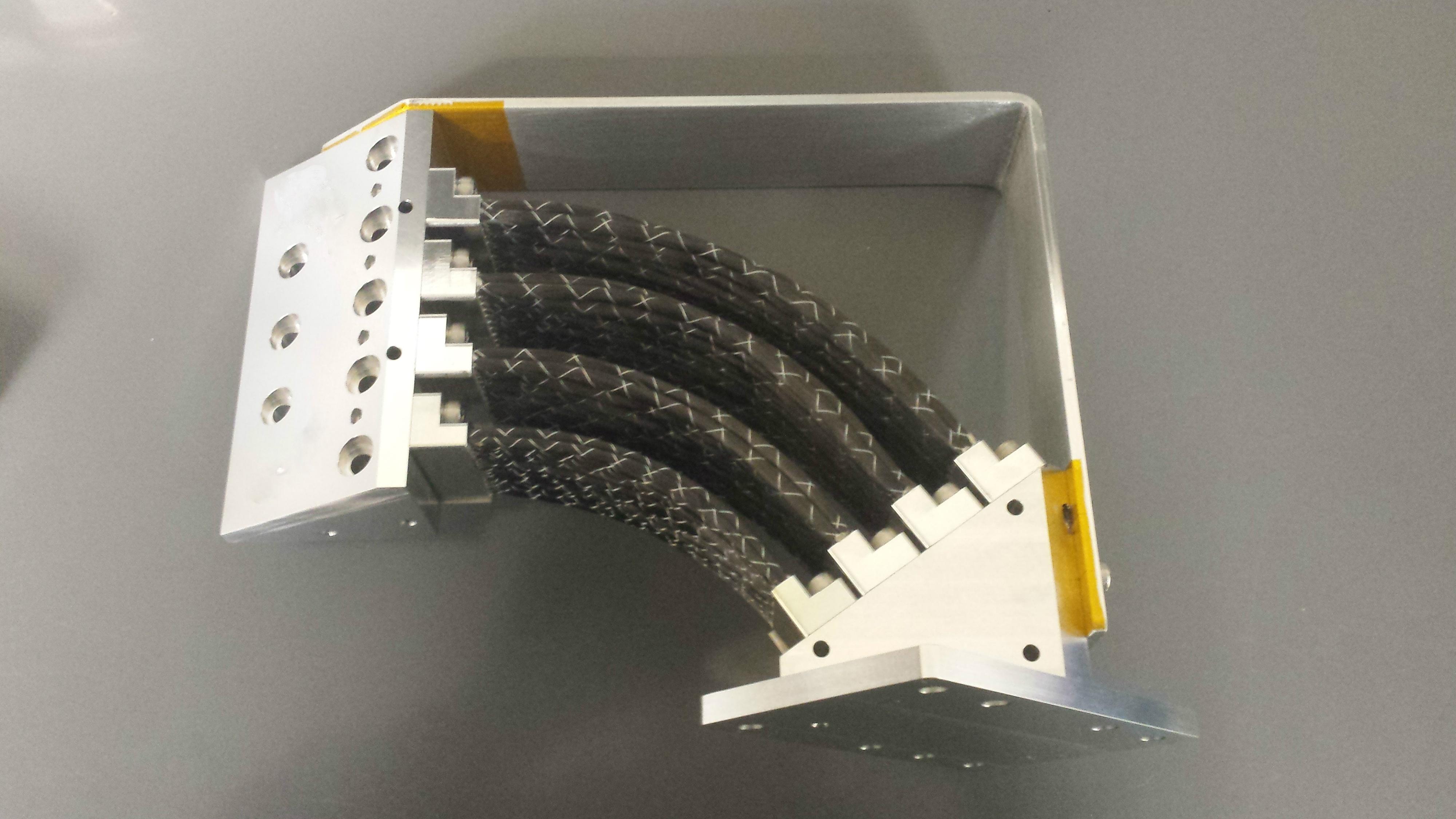 JAXA ASTRO-H Compressor Graphite Thermal Straps