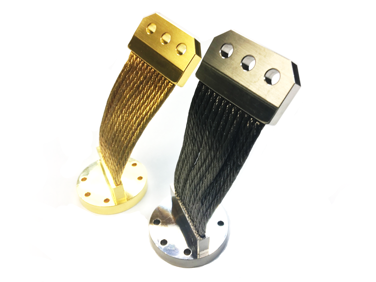 Nickel and Gold Plated Thermal Straps