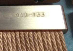 Copper Thermal Straps