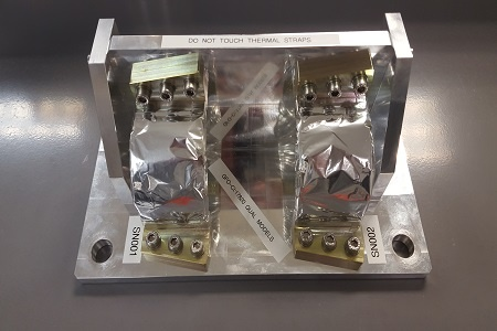 Kapton wrapped compressor graphite thermal straps