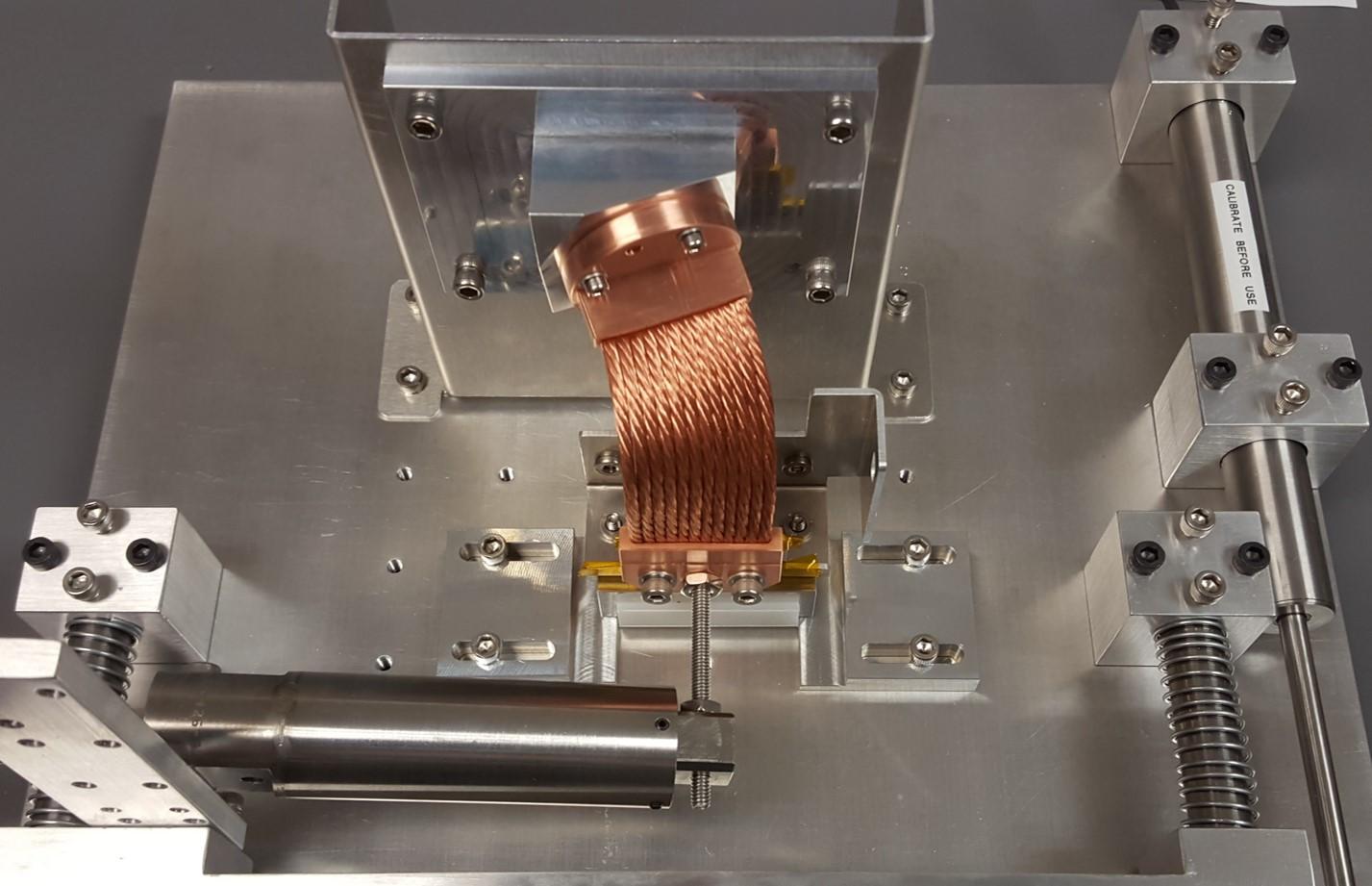 Thermal Strap Stiffness Testing