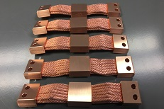 Dual armed CuTS - Copper Heat Straps