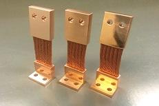 NASA Thermal Straps - Custom Copper Links