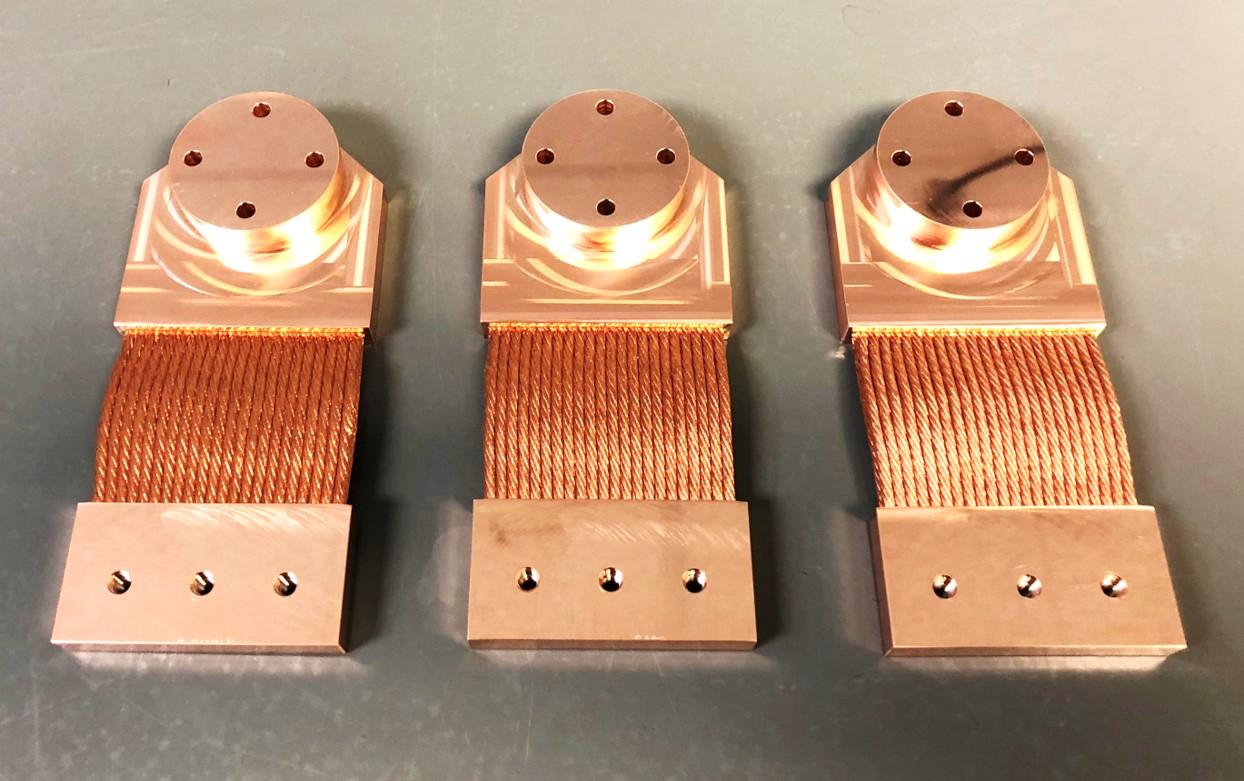 Thermal Straps - Ametek SunPower CryoTel GT cryocooler (NASA JPL)