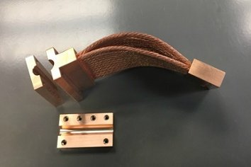 NASA Thermal Link/Strap - Custom CuTS with heat pipe interface