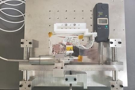 X-Series PGL Thermal Strap in Stiffness Test for NASA_450x300