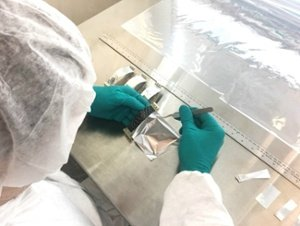 TAI Technician in Thermal Strap Assembly Clean Room