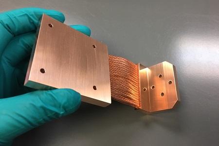 Cryomech PT30 Cryocooler Thermal Straps by TAI