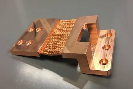 Electronics Box Copper Heat strap
