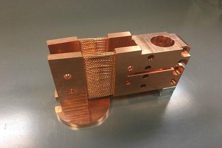 Cryocooler Heat Strap Assembly