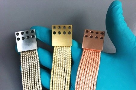 Gold Plated Thermal Straps